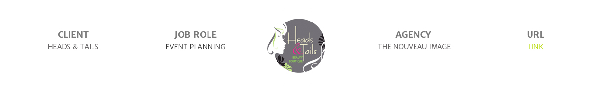 HEADS & TAILS EVENT BANNER